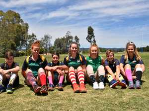 Crazy socks worn for a cause