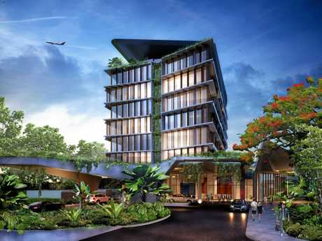 The Gold Coast Airport has announced plans for a $50m Rydges hotel near its expanded terminal building.