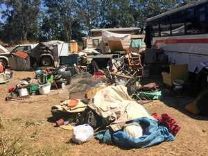 Squatters turn rural idyll into living nightmare