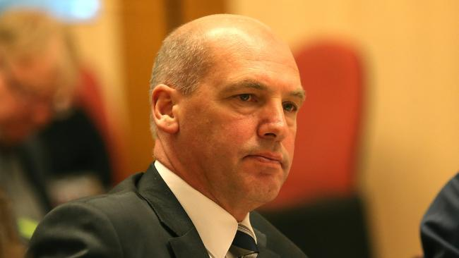 President of the Senate Stephen Parry believes he is a British citizen. Picture: Supplied