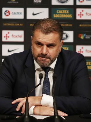 Socceroos head coach Ange Postecoglou.