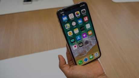 Apple's iPhone X removes the Home button for the first time. Picture: Jennifer Dudley-Nicholson