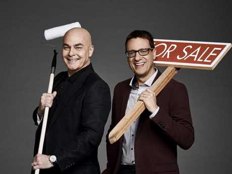 Hosts Neale Whitaker and Andrew Winter have plenty of on-screen banter.