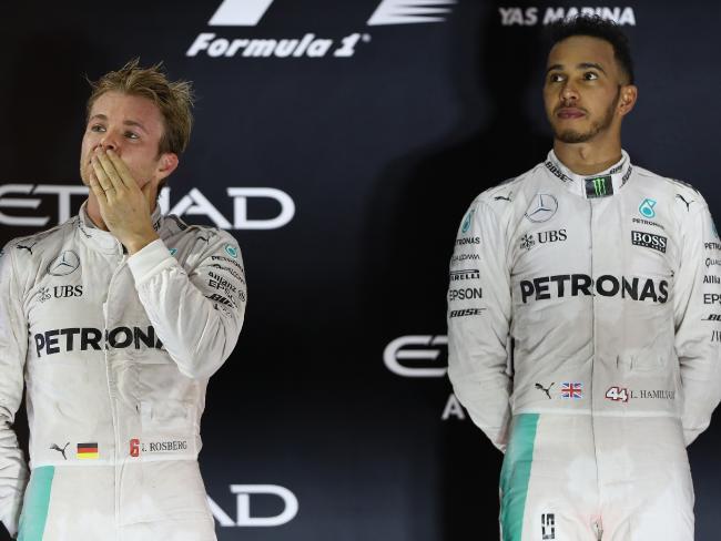 Hamilton won't be chucking a Rosberg.