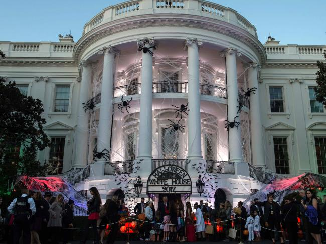 The White House fitted out for Halloween, but is something scarier could around the corner?