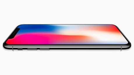 Apple's iPhone X is the first of its smartphones to use an OLED screen that delivers more brightness.
