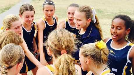 After undertaking surgery to remove her pituitary gland, Sunshine Coast tween Claire McCulloch is no longer the tallest player in her basketball team.