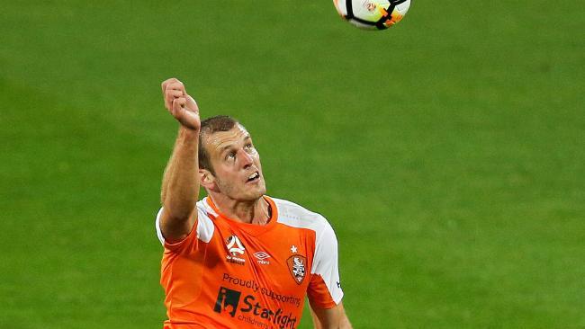 Brisbane Roar defender Luke DeVere is out for at least 10 weeks.