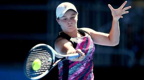 Ash Barty will be hoping for a good Aus Open. Picture: Wayne Ludbey