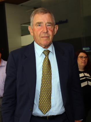 Mr Kinghorn leaves ICAC after giving evidence at the recent corruption inquiry into former Labor minister Ian MacDonald.