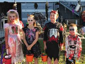 PHOTOS: Ghouls, ghosts 'terrorise' the streets on Halloween