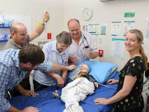 Specialist emergency training for region's hospitals