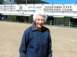 HAPPY BIRTHDAY: Dot Rothery celebrated her 97th Birthday with Gosford City WBC.