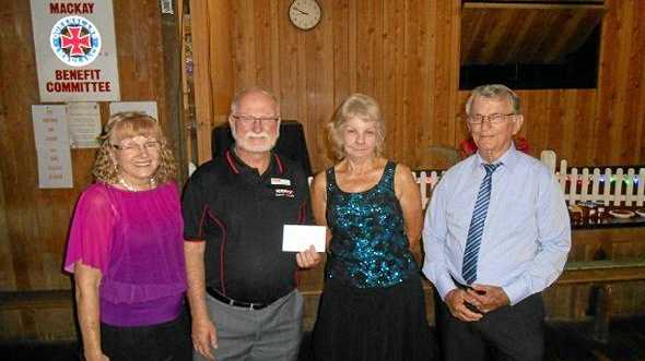 Mackay Ballroom Dancers Club has donated funds to the Kidney Support Network.