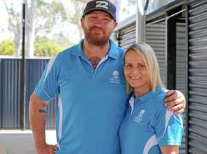 Swim school keeps it cool with new shed