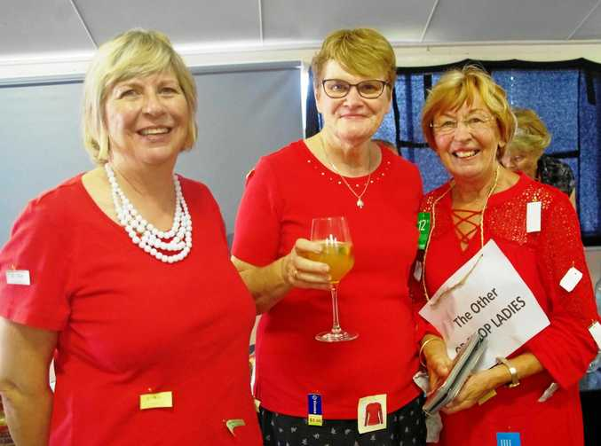 WINNERS ARE GRINNERS: The Other Op-Shop Ladies - part of the winning team.