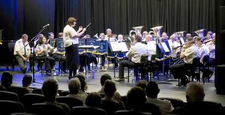 Toowoomba's Municipal Brass band promises a wonderful show this weekend at Picnic Point.