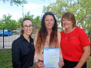 New beginning for former cleaner as Gladstone NDIS kicks off