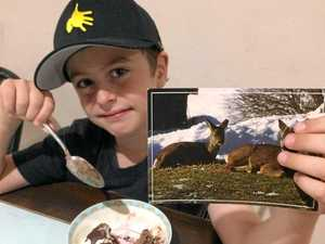 World backs boy with cancer after campaign goes viral