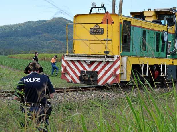 Police investigate the death of a cane train worker near Mirani.