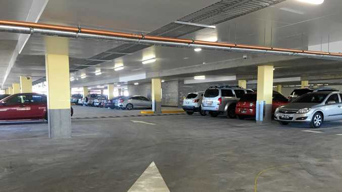 Parking at Sunshine Plaza will now incur a fee after three hours.