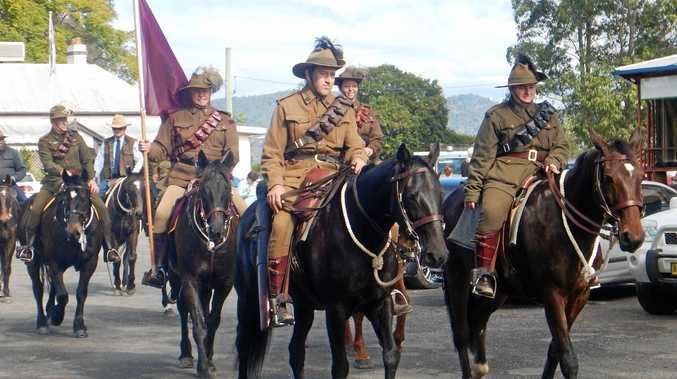 Tribute to Light Horse Brigade in Tabulam.