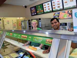 FREE SUBS: At Warwick Subway today for World Sandwich Day