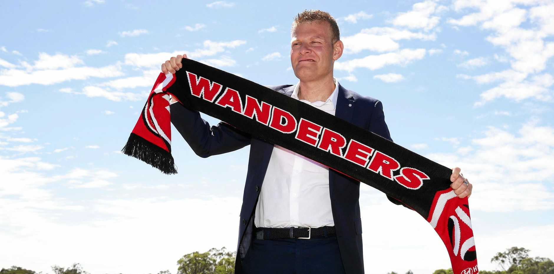 Josep Gombau is the new Western Sydney Wanderers coach.