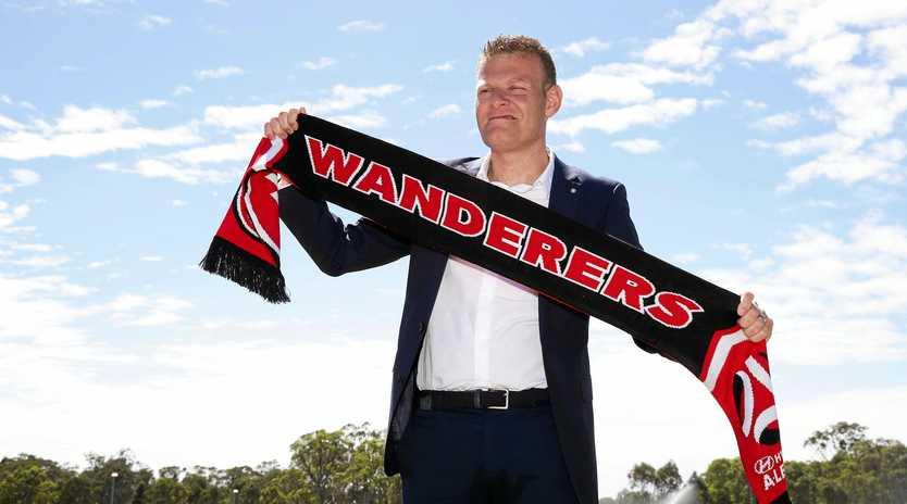 Josep Gombau is the new Western Sydney Wanderers coach.