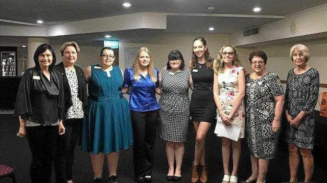 The inaugural CQUni Mackay Golden Z Club board was inducted at a ceremony hosted by the Zonta Club of Mackay.
