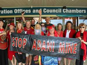 Protesters support Tweed Shire Council's stance on Adani
