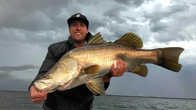 Brett Turner during the Zerek Barra Tour at Kinchant Dam.