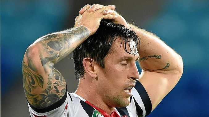 Mitchell Pearce has headed overseas amid talk he wants out of his contract with the Roosters.