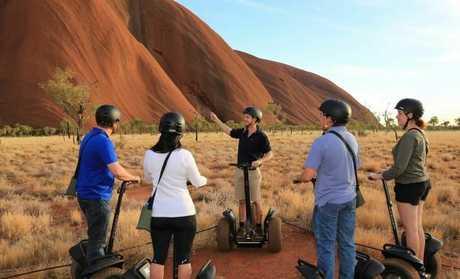Uluru Segway Tours.