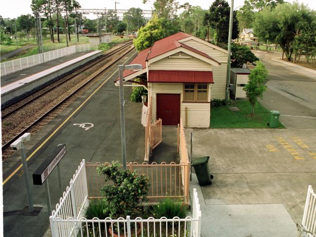 Landsborough railway station is a popular link to the Sunshine Coast for rail commuters, but the line to Beerburrum remains a single one.