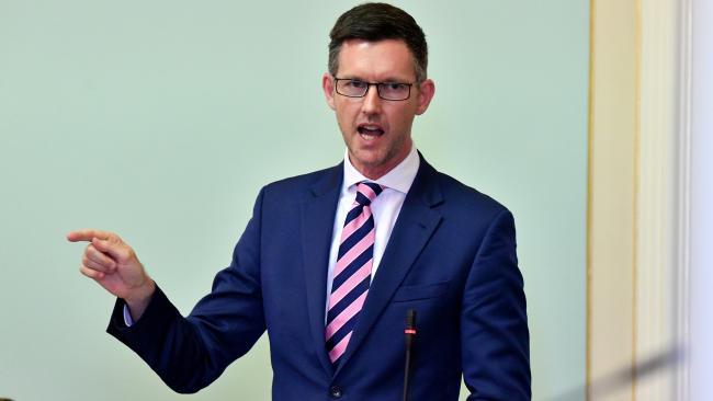 Queensland Minister for Main Roads. (AAP Image/Darren England)
