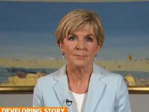 Julie Bishop's perfect response to Karl questioning her future