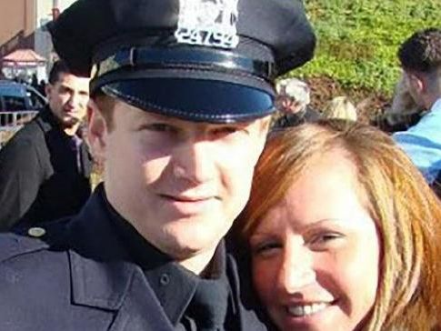NYPD police officer Ryan Nash. Picture: Facebook.