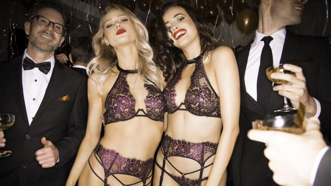 6fff2c4cbdc4a Raunchy 'Office Party' lingerie ad slammed | Daily Mercury