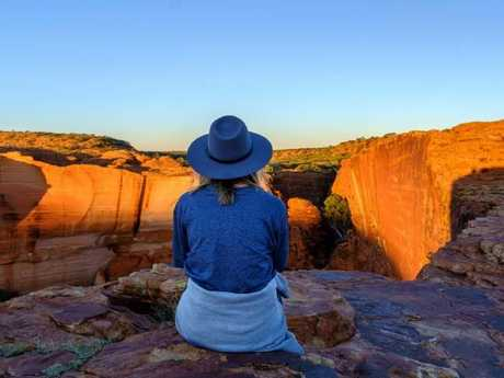 Kings Canyon is a 3.5-hour drive from Uluru.