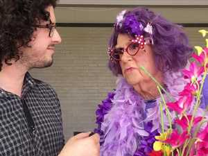 Pottsy catches up with Dame Edna