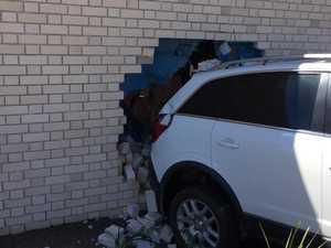 Car crash AR Centre