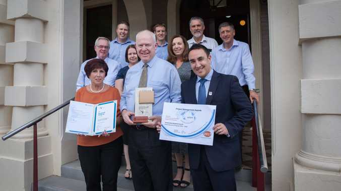 Toowoomba Regional Council's Flood Recovery Program 2011 - 2016 has won the 2017 project management award for Community Service and/or Regional Development from the Asia Pacific Federation of Project Management (APFPM).