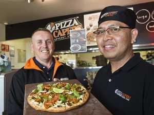 Vegan pizza is popular