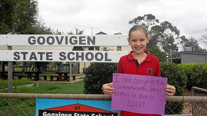 Tanika will be representing Goovigen State School.