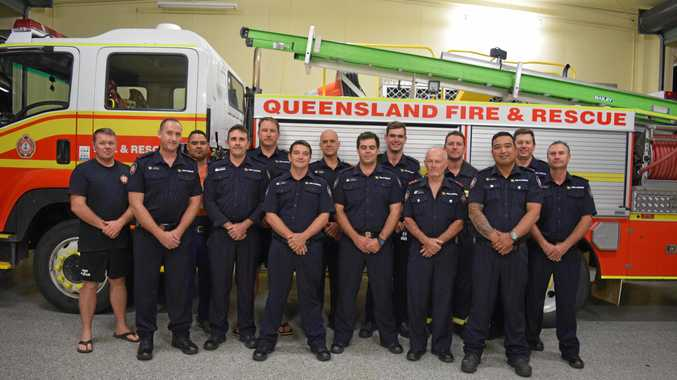 IN THE MO: Biloela Fire Station 52 will be participating in Movember.