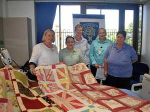 Roma Hospital proud recipient of quilts