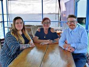 Family trio take over popular Mackay waterfront bar