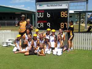 Capricornia girls get the runs in a two-wicket thriller