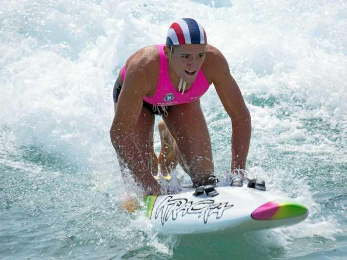 Byron Bay surf lifesaver Jy Timperley.